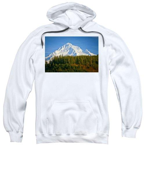 Mt Hood In Winter Sweatshirt