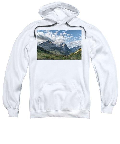 Mt. Oberlin From Logan Pass Sweatshirt
