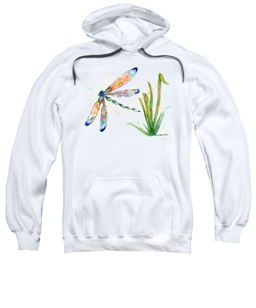 Multi-colored Dragonfly Sweatshirt