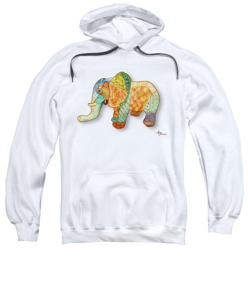 Multicolor Elephant Sweatshirt