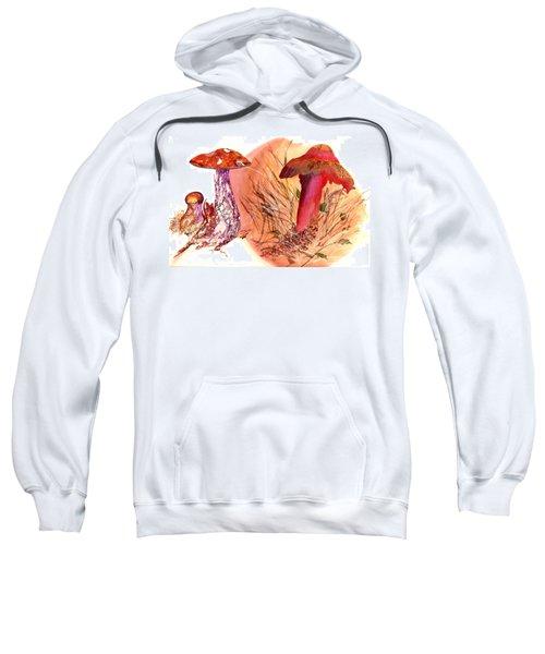 Mushroom Family Sweatshirt