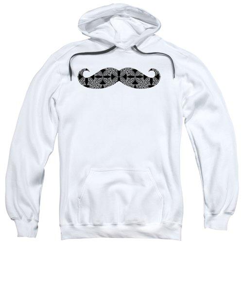 Mustache Tee Sweatshirt by Edward Fielding