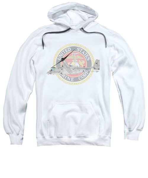 Mv-22bvmm-261 Sweatshirt