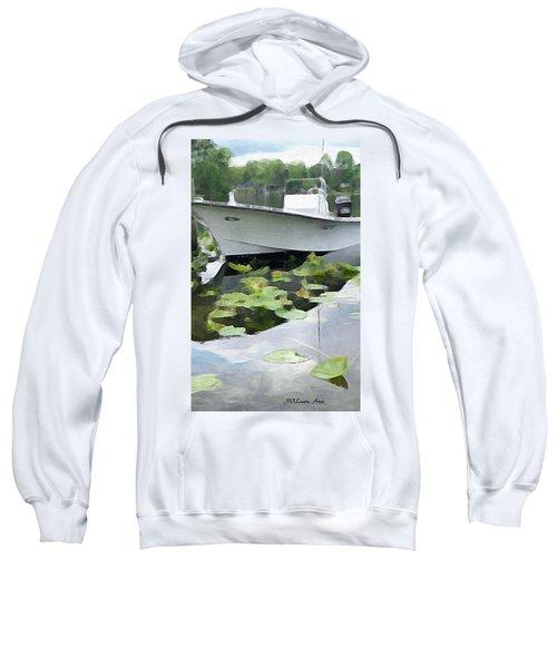 My Grandson's Boat Sweatshirt