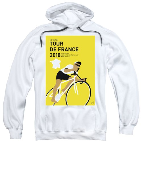 My Tour De France Minimal Poster 2018 Sweatshirt
