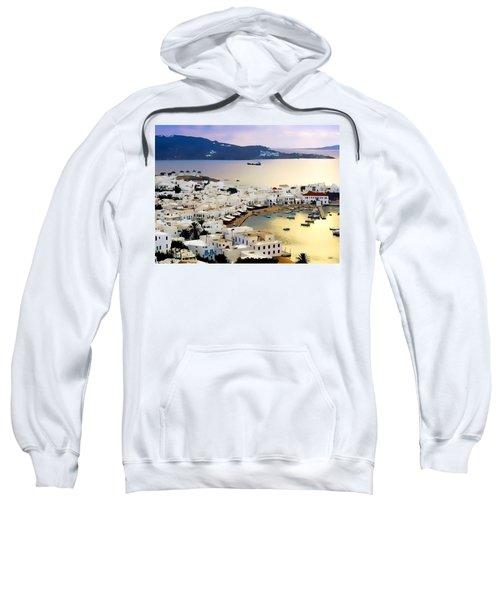 Mykonos Greece Sweatshirt