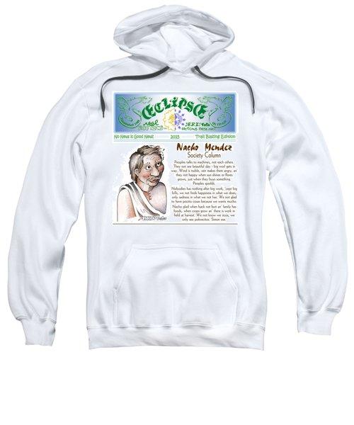 Real Fake News Society Column 1 Sweatshirt