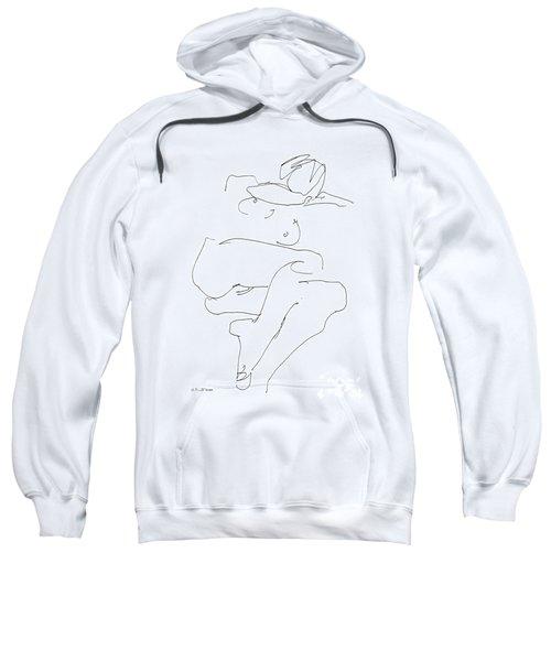 Naked-female-art-21 Sweatshirt