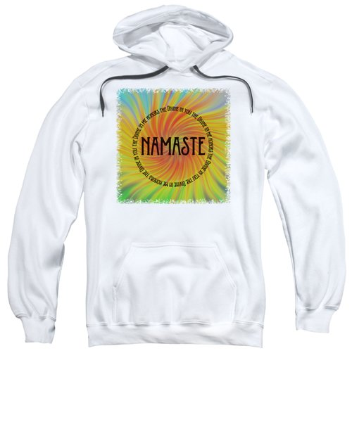 Namaste Divine And Honor Swirl Sweatshirt
