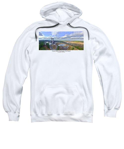 Nasa Msfc Hydrogen Test Stand - Original Sweatshirt
