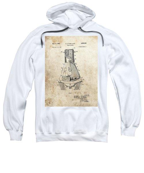 Nasa Space Capsule Patent Sweatshirt