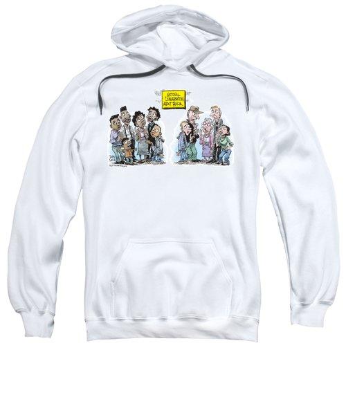 National Conversation About Race Sweatshirt