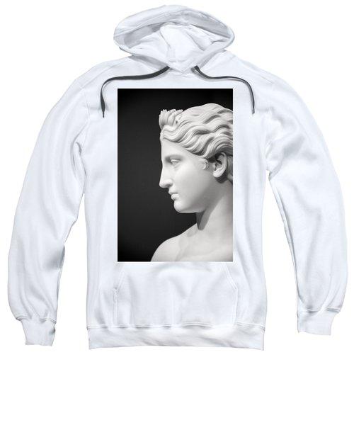 National Portrait Gallery Statue Profile Sweatshirt