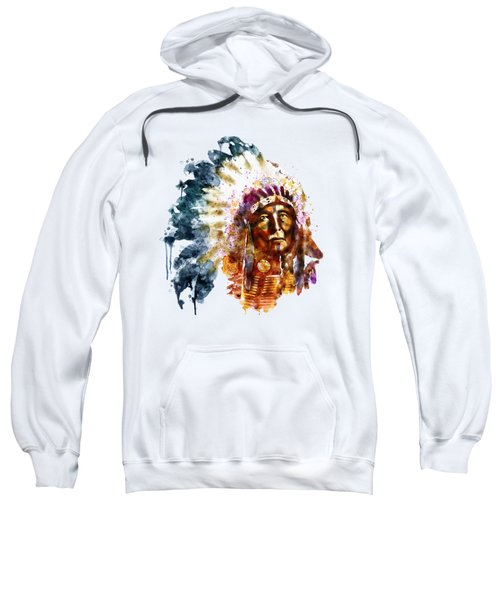 Native American Chief Sweatshirt