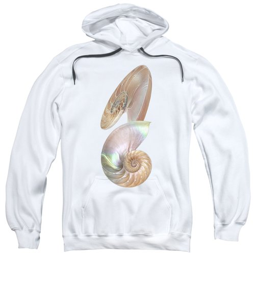 Nautilus Natural Jewel Of The Sea - Vertical Sweatshirt