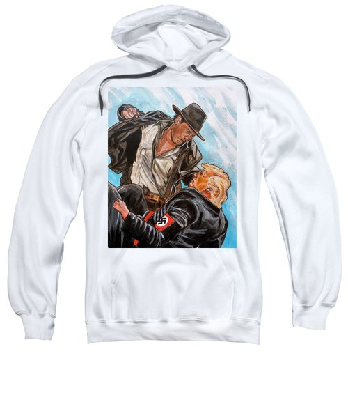 Nazis. I Hate Those Guys. Sweatshirt