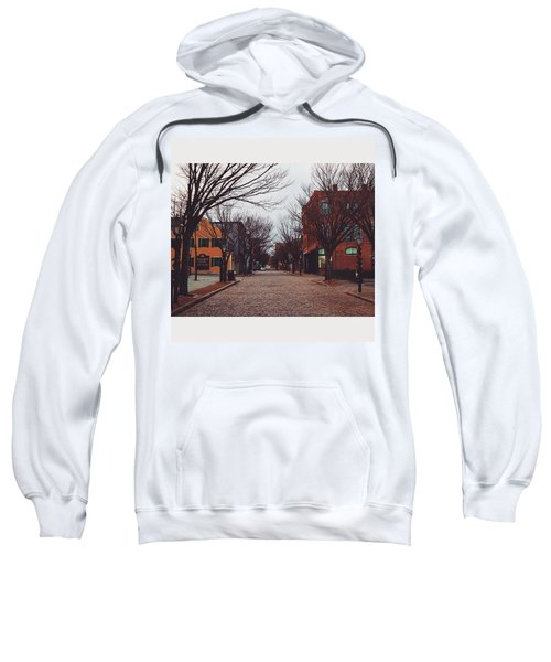 A Christmas Morning Downtown  Sweatshirt