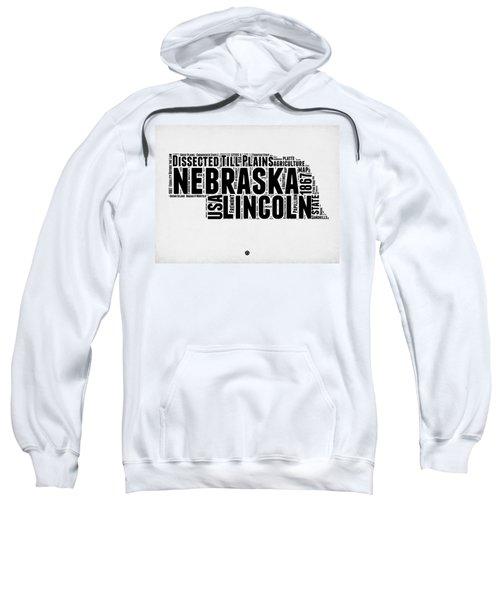 Nebraska Word Cloud 2 Sweatshirt