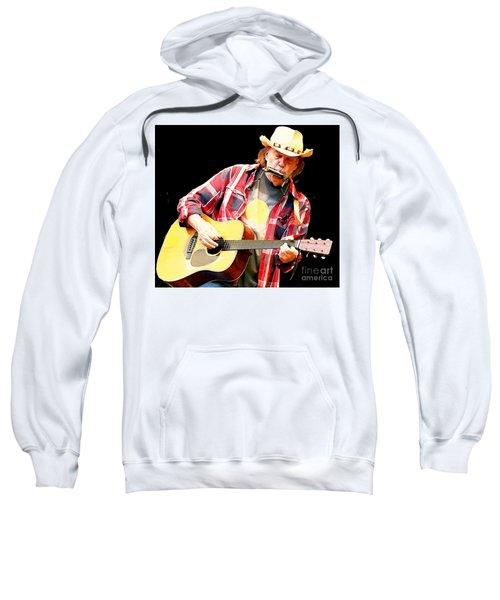 Neil Young Sweatshirt by John Malone