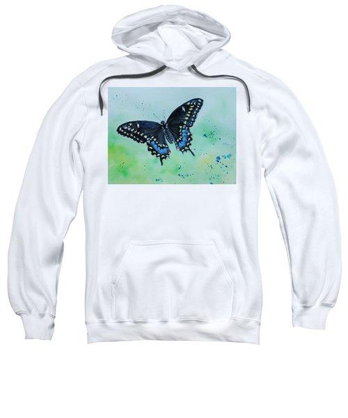 Neon Swallowtail Sweatshirt
