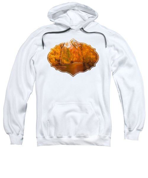 New England Autumn In The Woods Sweatshirt
