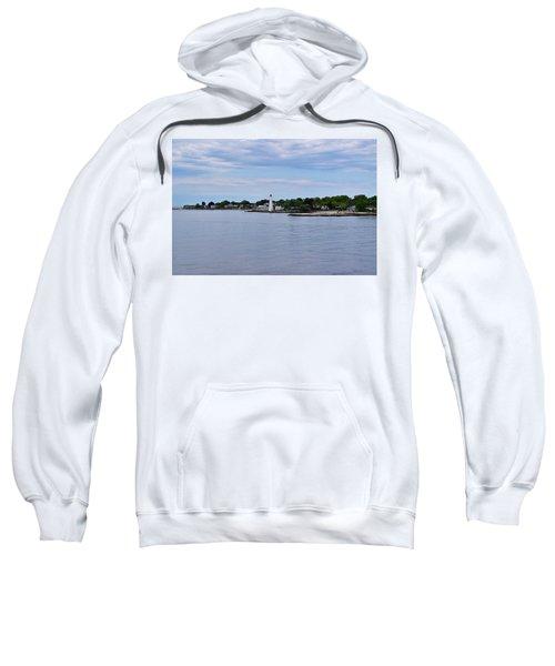 New London Harbor Lighthouse Sweatshirt