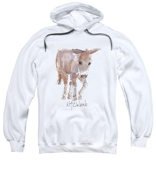 New Pasture Boss Sweatshirt by Kathleen McElwaine