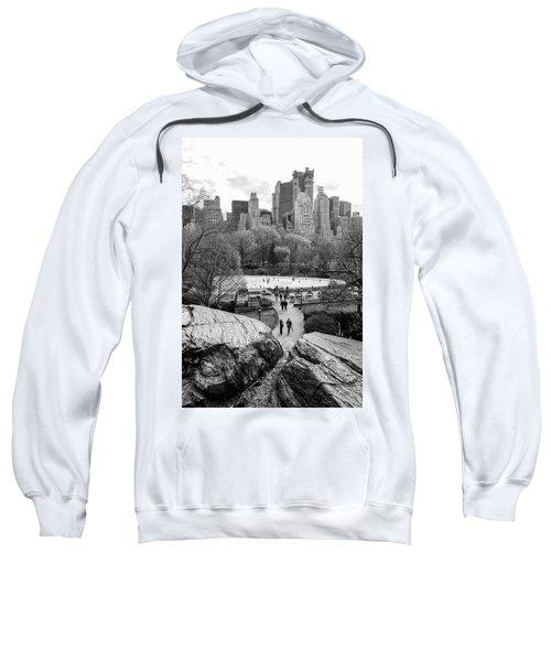 New York City Central Park Ice Skating Sweatshirt