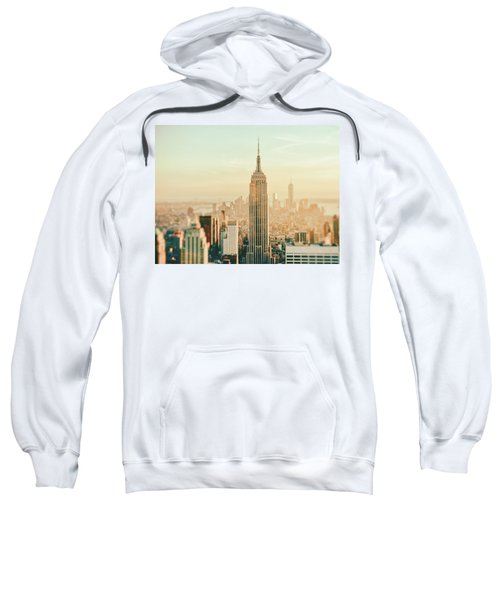 New York City - Skyline Dream Sweatshirt by Vivienne Gucwa