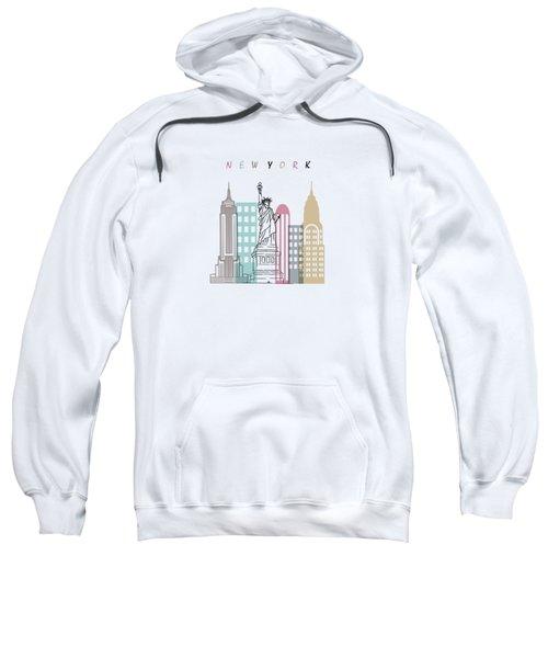 New York  Minimal  Sweatshirt by Mark Ashkenazi