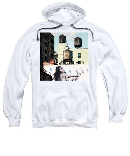 New York Water Towers 15 Sweatshirt