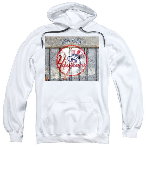 New York Yankees Top Hat Rustic Sweatshirt