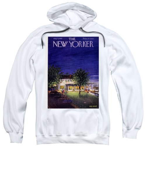 New Yorker August 13 1955 Sweatshirt