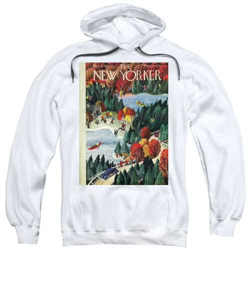 New Yorker October 18 1941 Sweatshirt