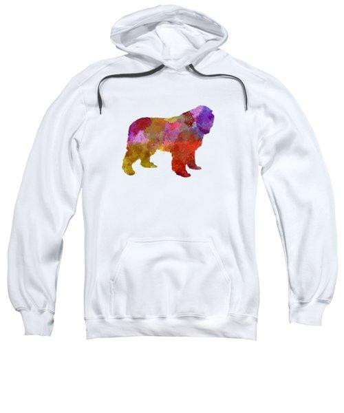 Newfoundland In Watercolor Sweatshirt