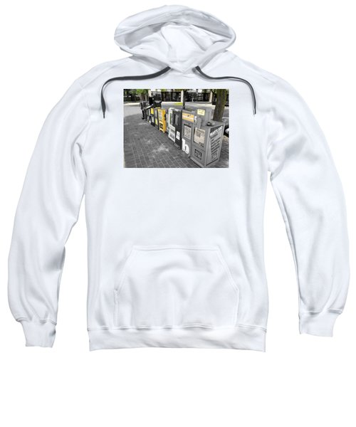 Newspaper Boxes Sweatshirt