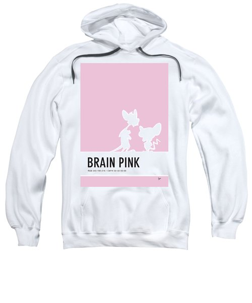 No01 My Minimal Color Code Poster Pinky And The Brain Sweatshirt