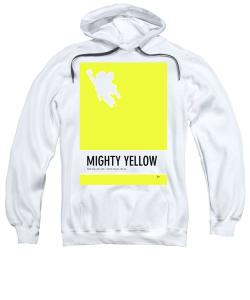 No02 My Minimal Color Code Poster Mighty Mouse Sweatshirt