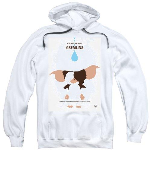 4b243f1adf14 No451 My Gremlins Minimal Movie Poster Sweatshirt