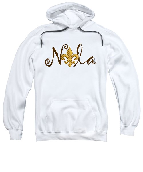 Nola In Brown Sweatshirt