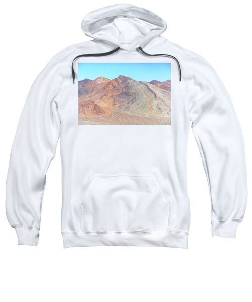 Sweatshirt featuring the photograph North Of Avawatz Mountain by Jim Thompson
