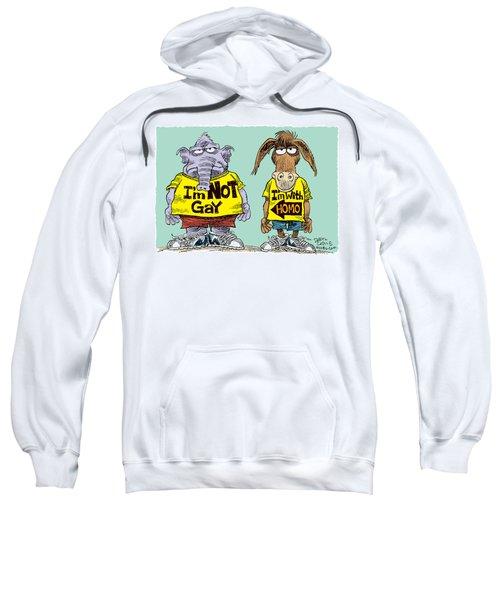 Not Gay Sweatshirt