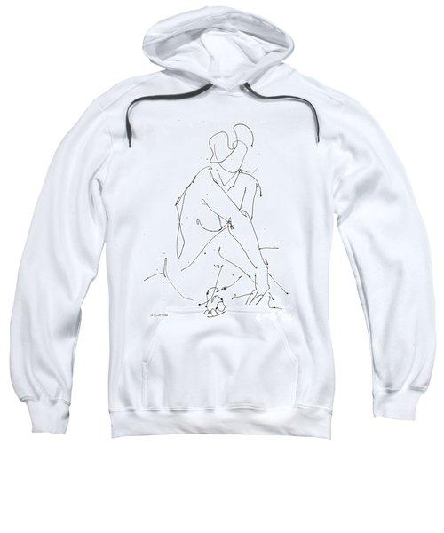 Nude-female-drawing-19 Sweatshirt