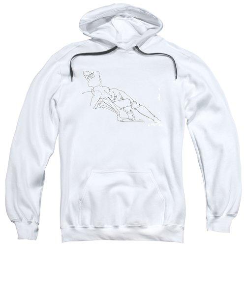 Nude Female Drawings 3 Sweatshirt