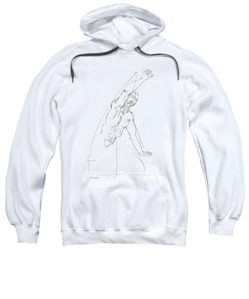 Nude_male_drawing_25 Sweatshirt