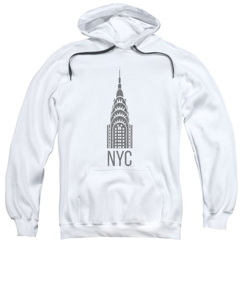 Nyc New York City Graphic Sweatshirt by Edward Fielding