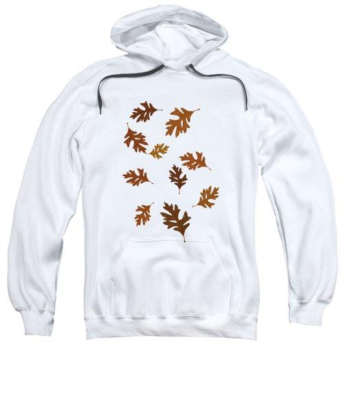 Oak Leaves Art Sweatshirt