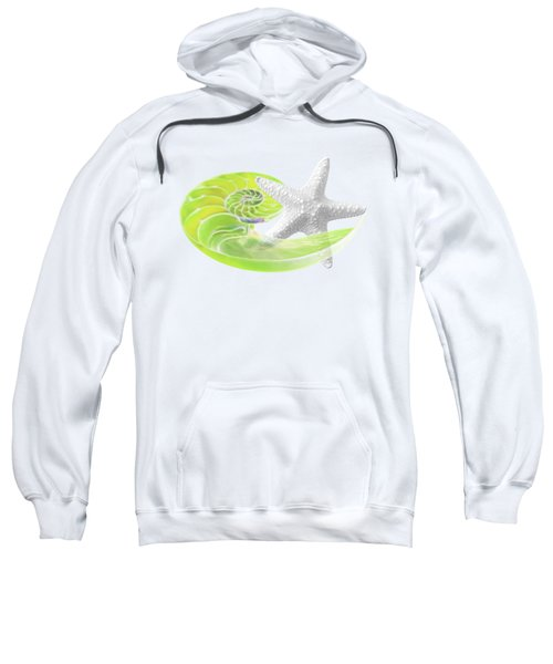 Ocean Fresh Sweatshirt by Gill Billington