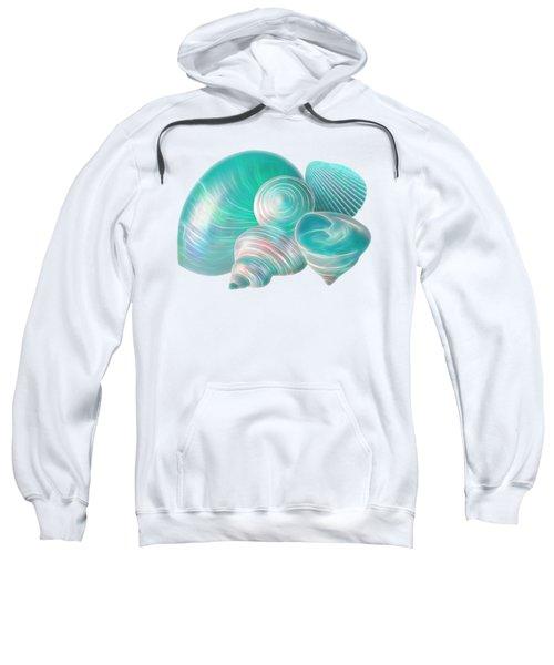 Ocean Glow Seashells Sweatshirt
