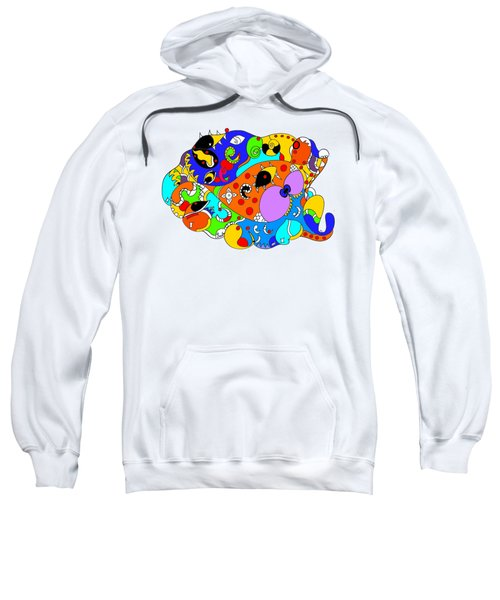 Ocean Life Sweatshirt by Sally Bosenburg